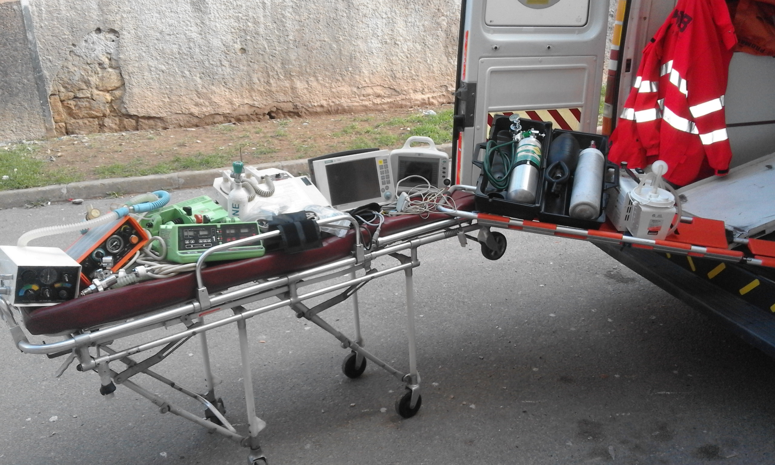 equipement ambulance